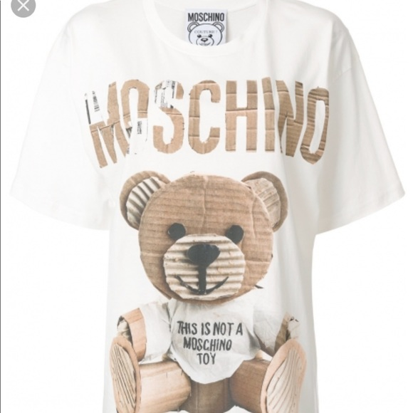 80391722ae6 Moschino 🐻 bear over-sized t shirt